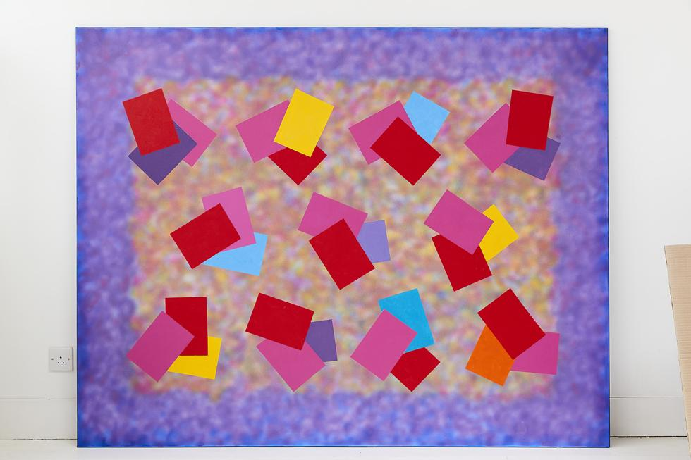 03. Carnival 60 x 76 acrylic and oil on canvas 1999