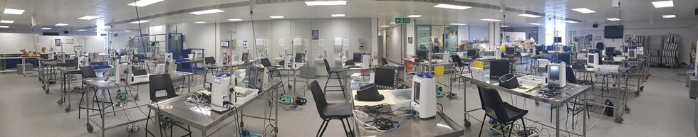 The spacious and flexible Anatomical Sciences Laboratory