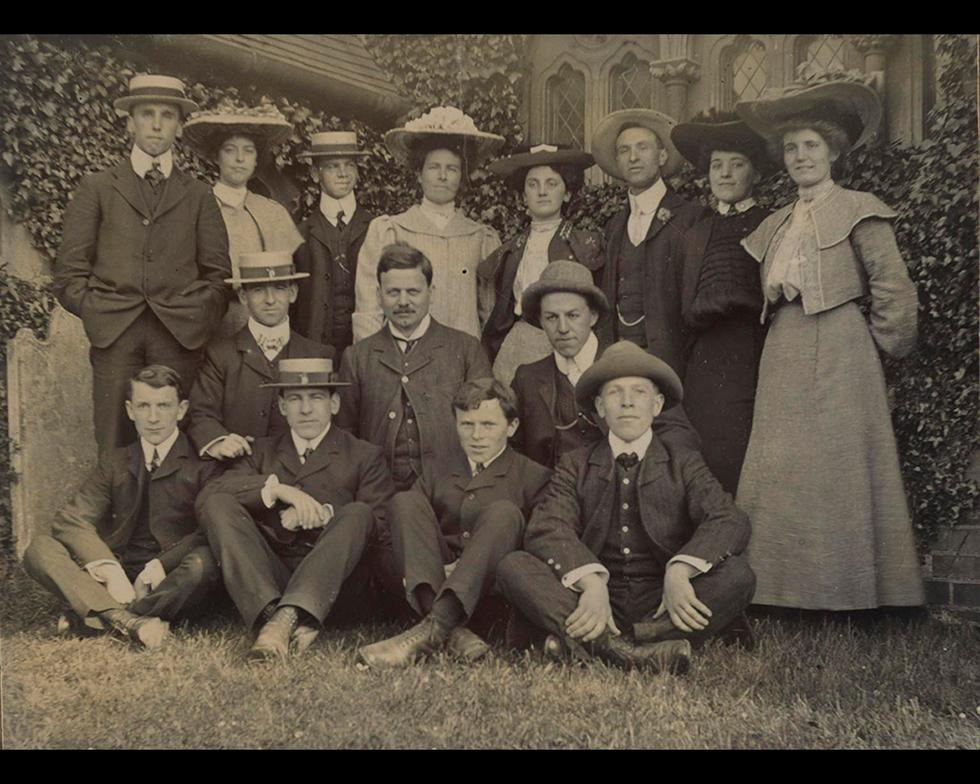 Student life: Students, 1904