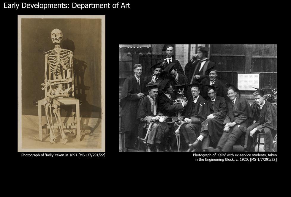 Image #3: 'Kelly' the skeleton