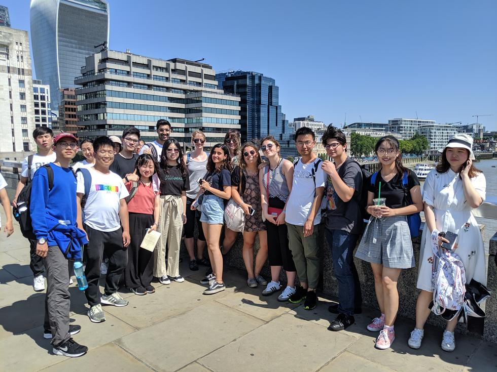 Trips to the big financial capital, London