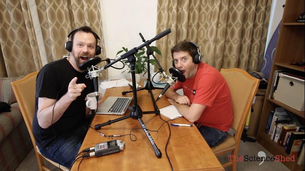 Dr Steve Lee and Dr Nick Evans - TheScienceShed