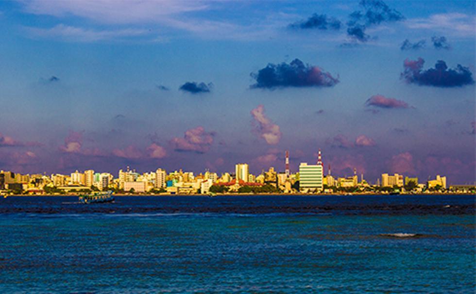 Malé, capital of the Maldives. Credit: Laurens Speelman