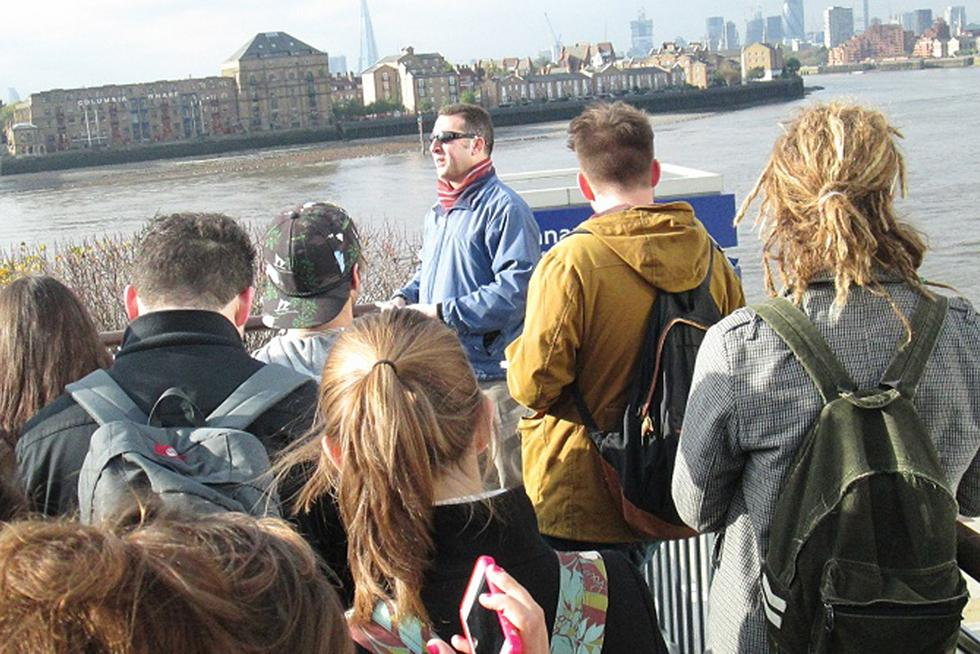Human geography field trip - London
