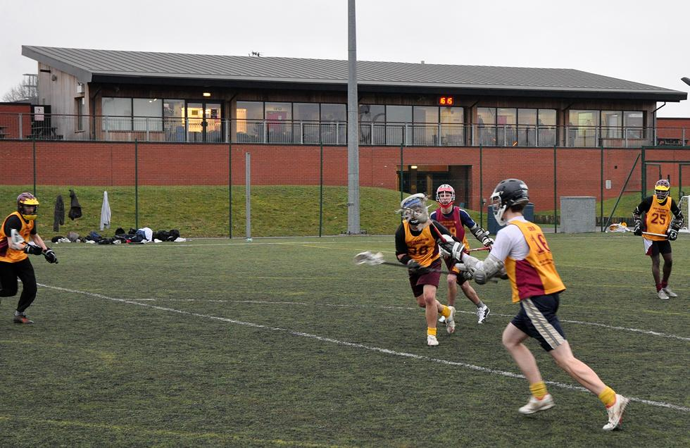 Lacrosse on the Rubber Crumb Pitch