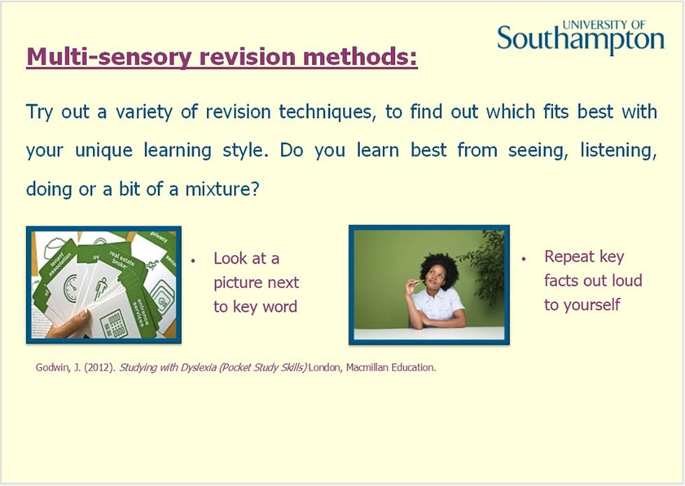 Revision and memory guide - Slide 11
