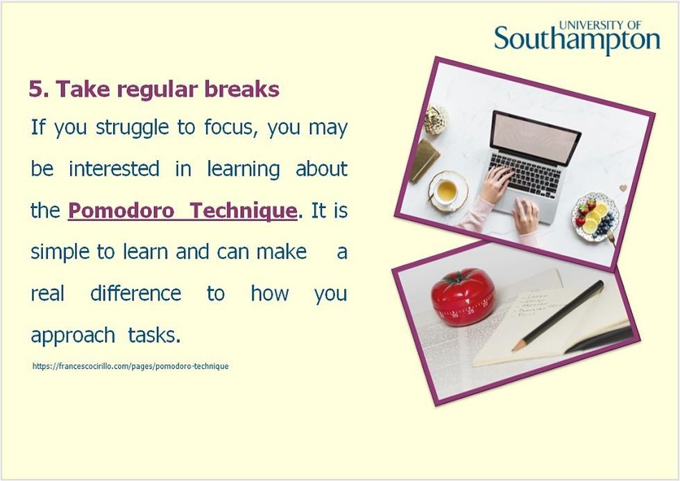 Time management guide - slide 13