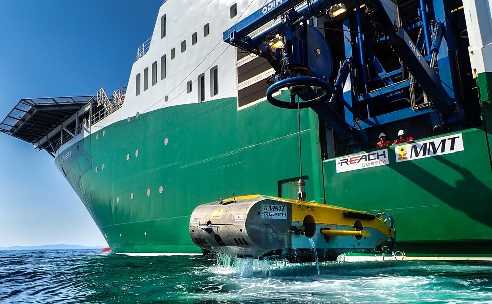 MMT SROV and vessel Havila Subsea.