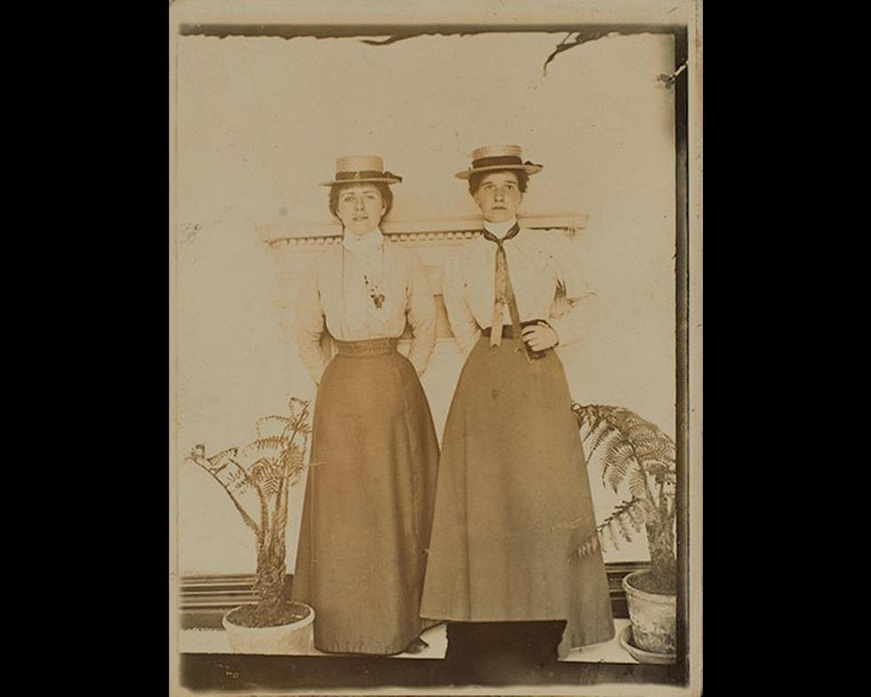 Student life: Women students, 1899