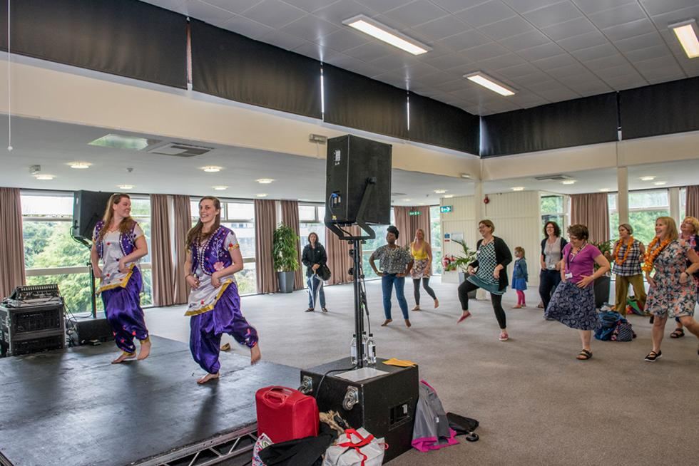 Bhangra performance and workshop