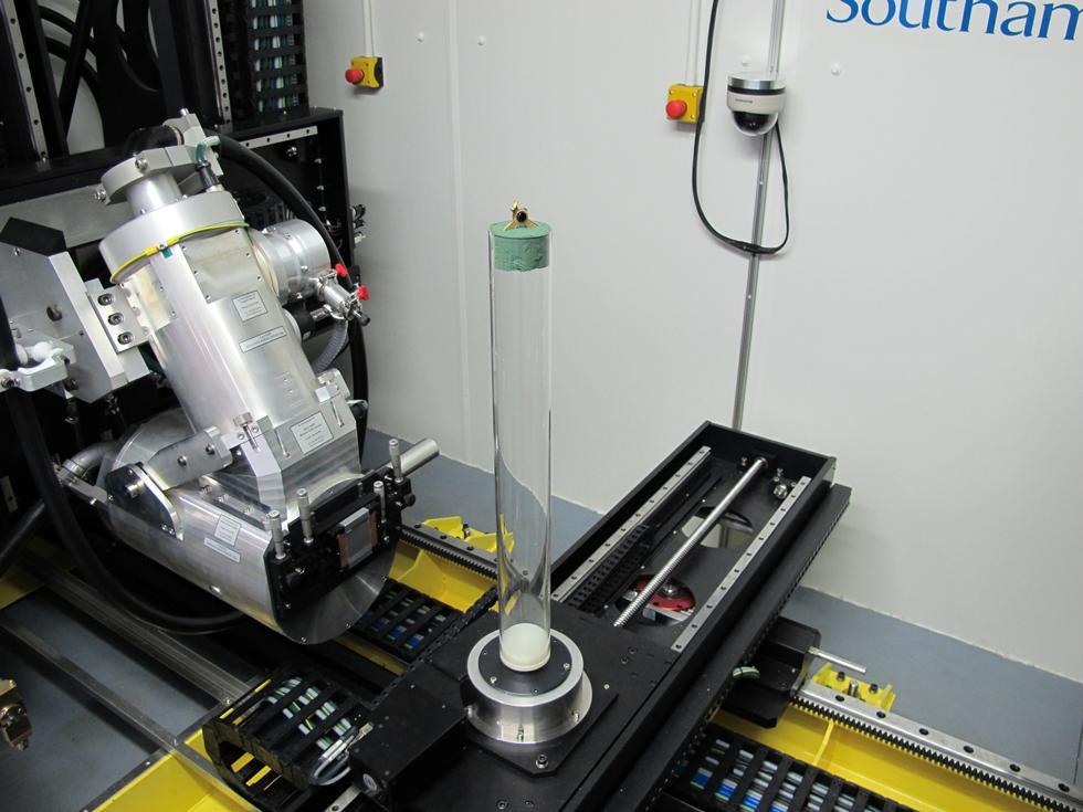 Figure 2 - Inside of the 450 kVp System