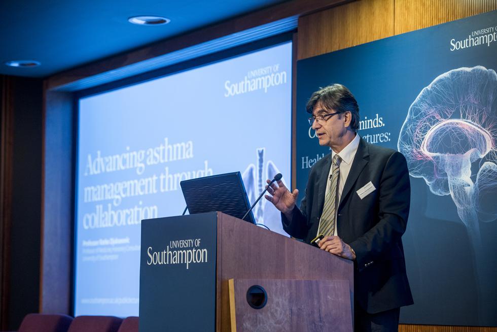 Professor Ratko Djukanovic, Professor of Medicine; Honorary Consultant Physician, University of Southampton