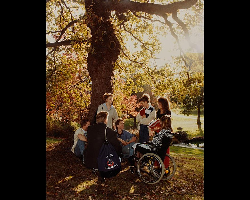 Student life: Students, 1990s