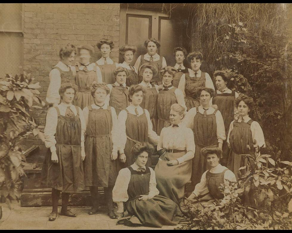 Student life: Students, 1906