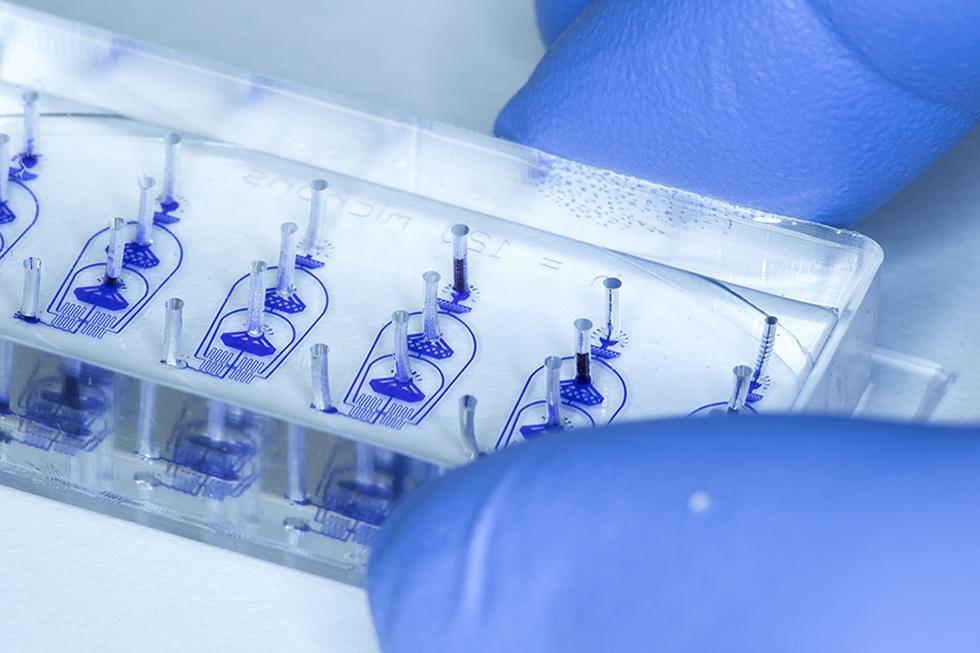 Microfluidic Device, Dr Jonathan West