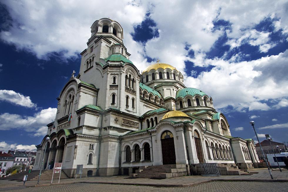 The St Alexander Nevsky Cathedral, Sofia