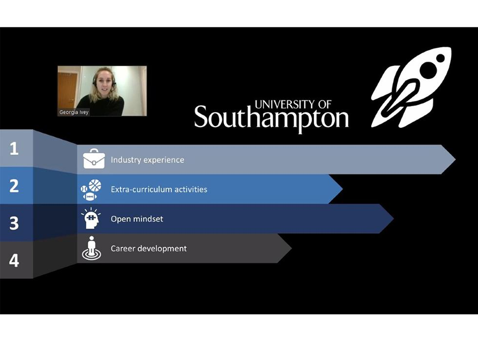 Ms. Georgia Ivey (Southampton Business school alumna - BSc Business Analytics with placement)