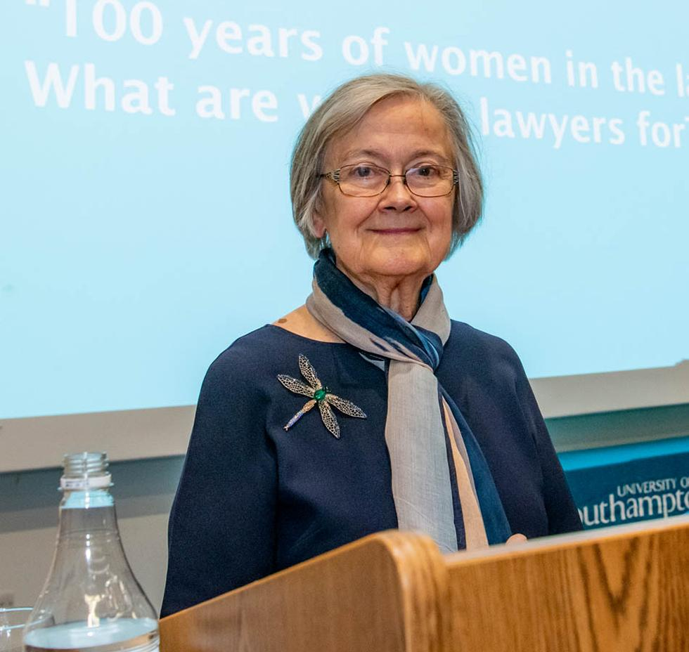 Lady Hale - President of the Supreme Court