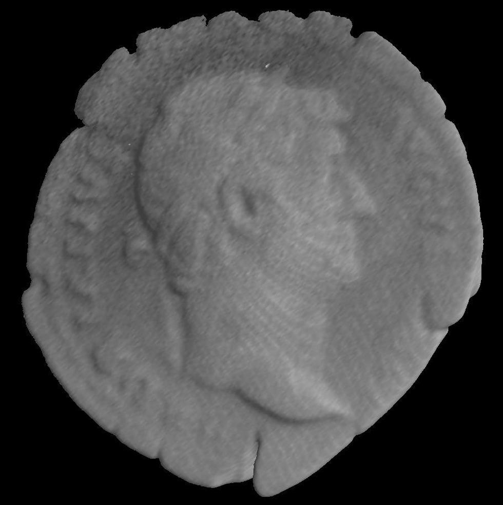 Figure 3a - Coin of emperor Hadrian (AD117-138)