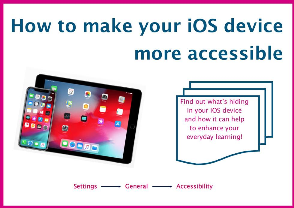 How to make your iOS device more accessible