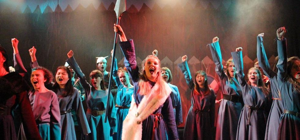 SUSU's Light Opera Society performing Princess Ida