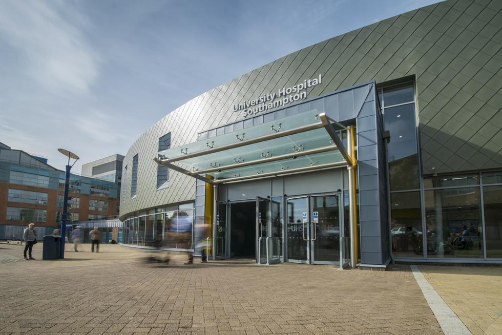 Southampton General Hospital front entrance