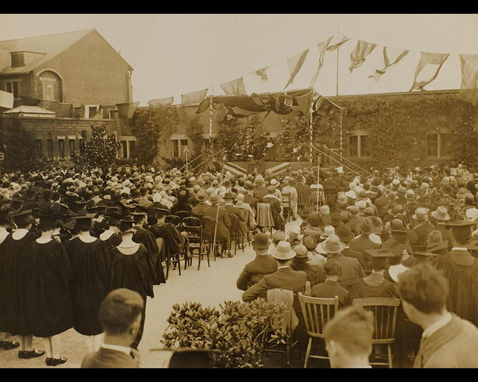 Development: Official opening of Highfield campus, 1919