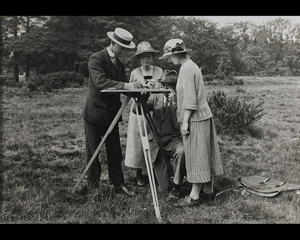 Field work: Geography field work, 1926