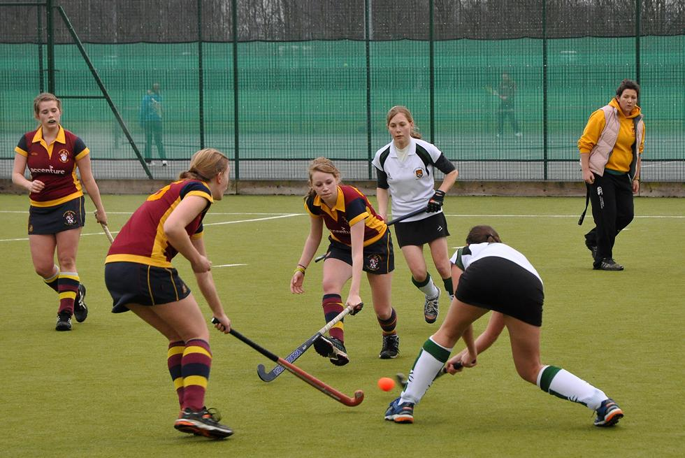 Hockey on the Rubber Crumb Pitch