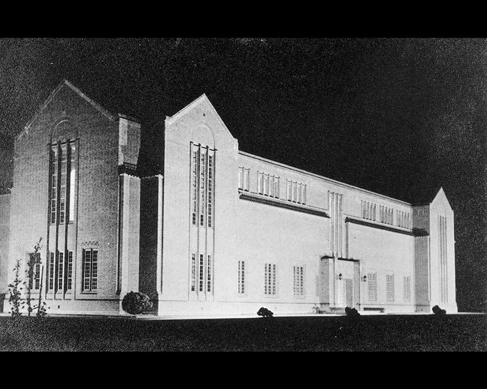 Development: Turner Sims Library, opened in 1936