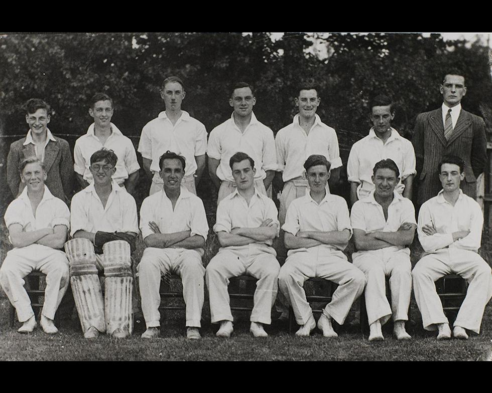 Sports: First XI cricket team, 1943