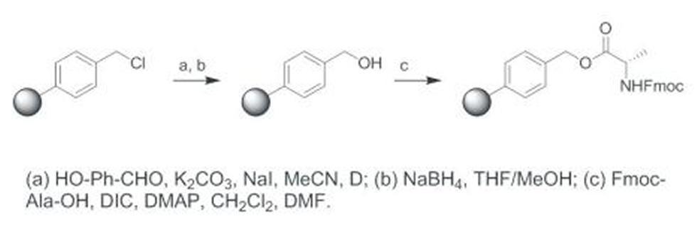 Reaction scheme. N. J. Wells, PhD Thesis, University of Southampton, 2002.