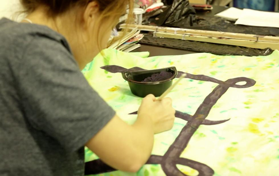 WSA printmaking