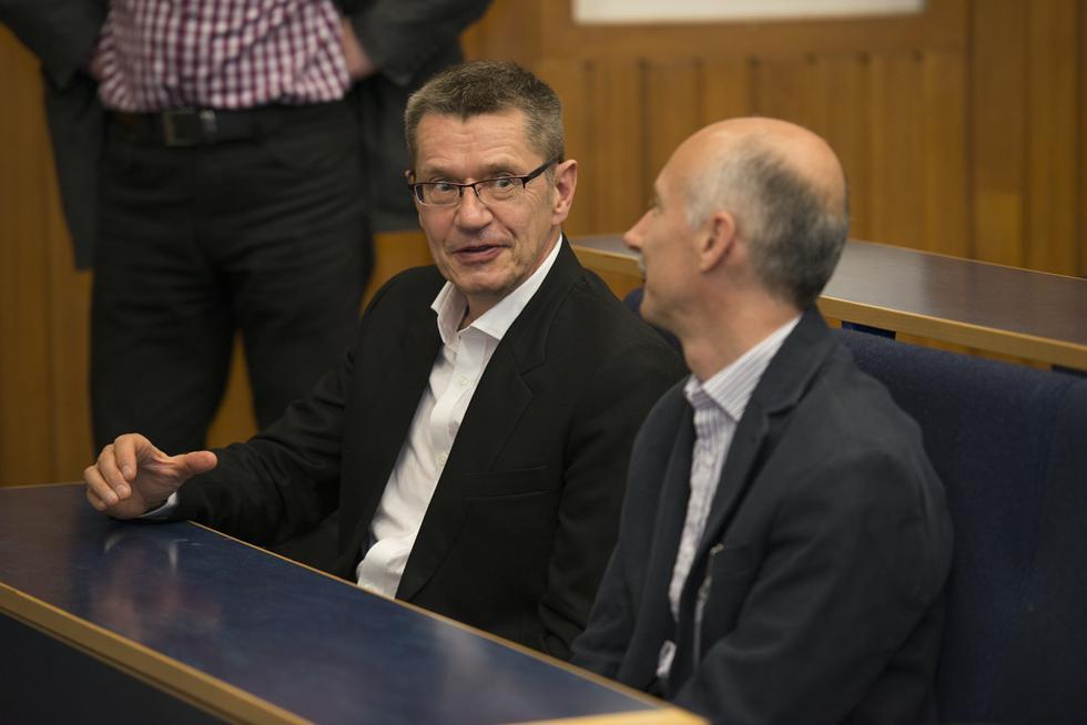 Professor Neil Wrigley and Professor David Martin