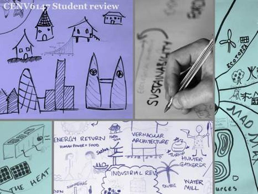 Module review. Students reflect on the content covered in lectures through creative activities.