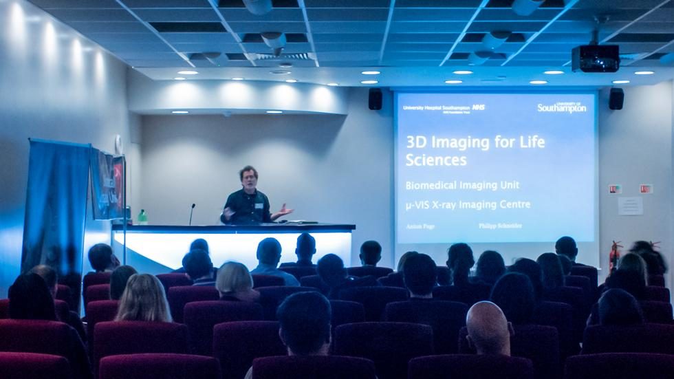 3D imaging for Life Sciences - UHS - Friday 13 April 2018