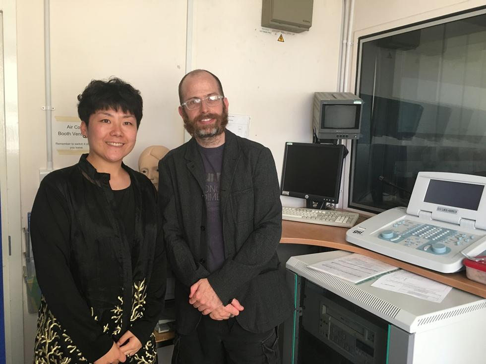 Dr Shou Wang visits from Beijing Otolaryngology Research Institute, Tongren Hospital
