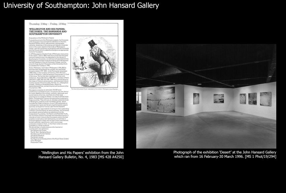 Image #25: John Hansard exhibitions
