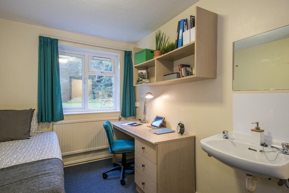 An example of non-en suite category 1 room