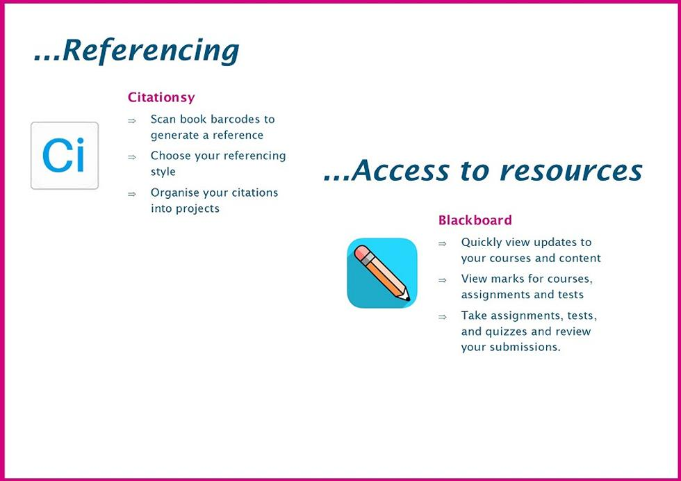 Referencing and access to resources
