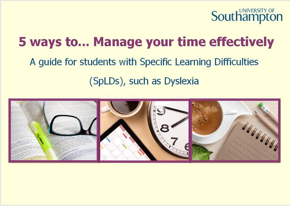 Time management guide - slide 1