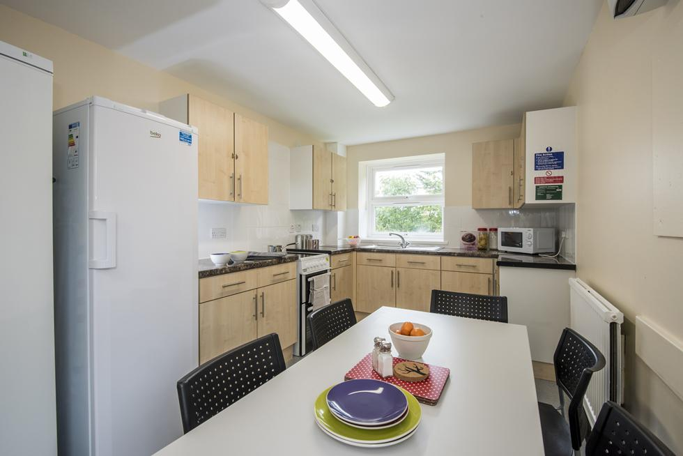 An example of a shared kitchen in Montefiore