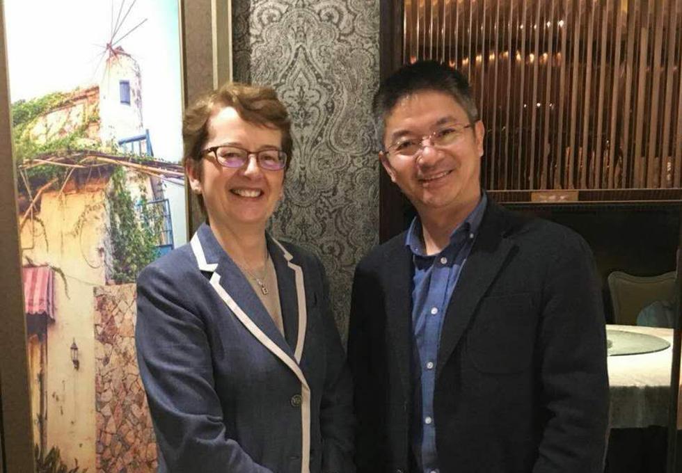 The Xiamen alumni group was initiated by David Zeng two years ago