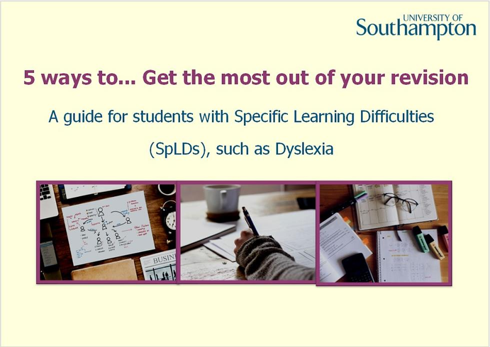 Revision and memory guide - Slide 1