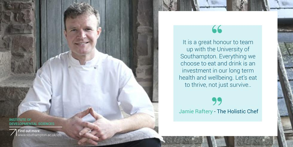 Jamie Raftery - The Holistic Chef