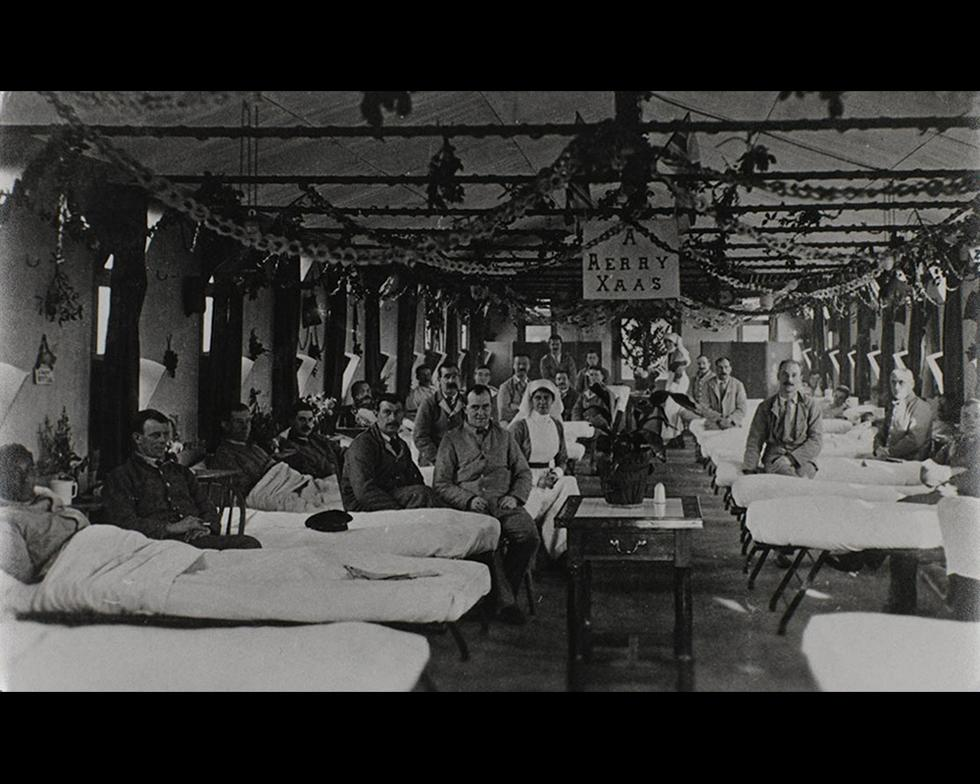 Development: Highfield campus as war hospital, 1914-18