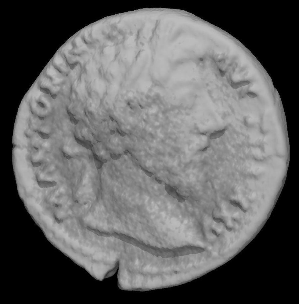 Figure 3b - Coin emperor Marcus Aurelius (AD161-180)