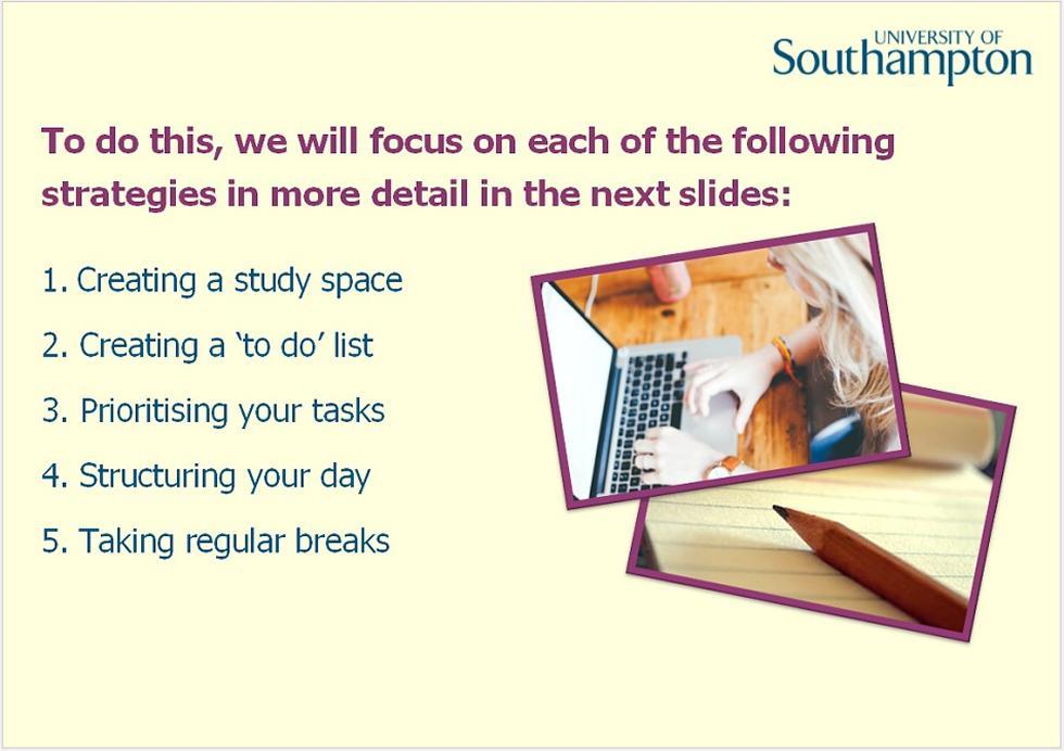Time management guide - slide 2