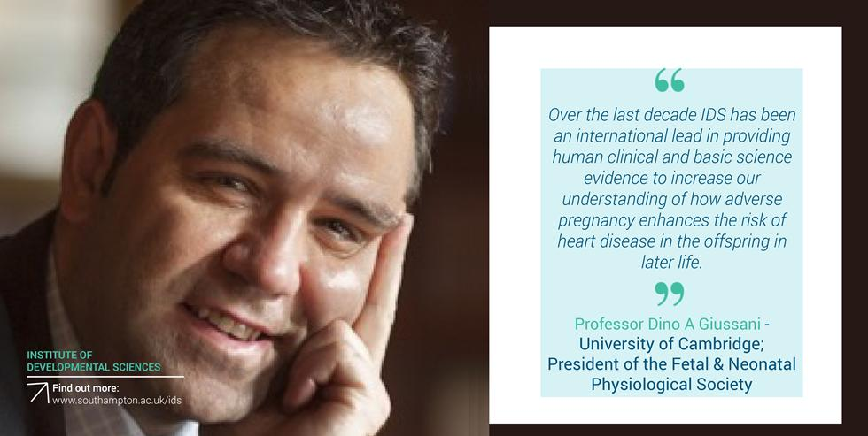 Professor Dino A Giussani - University of Cambridge; President of the Fetal & Neonatal Physiological Society