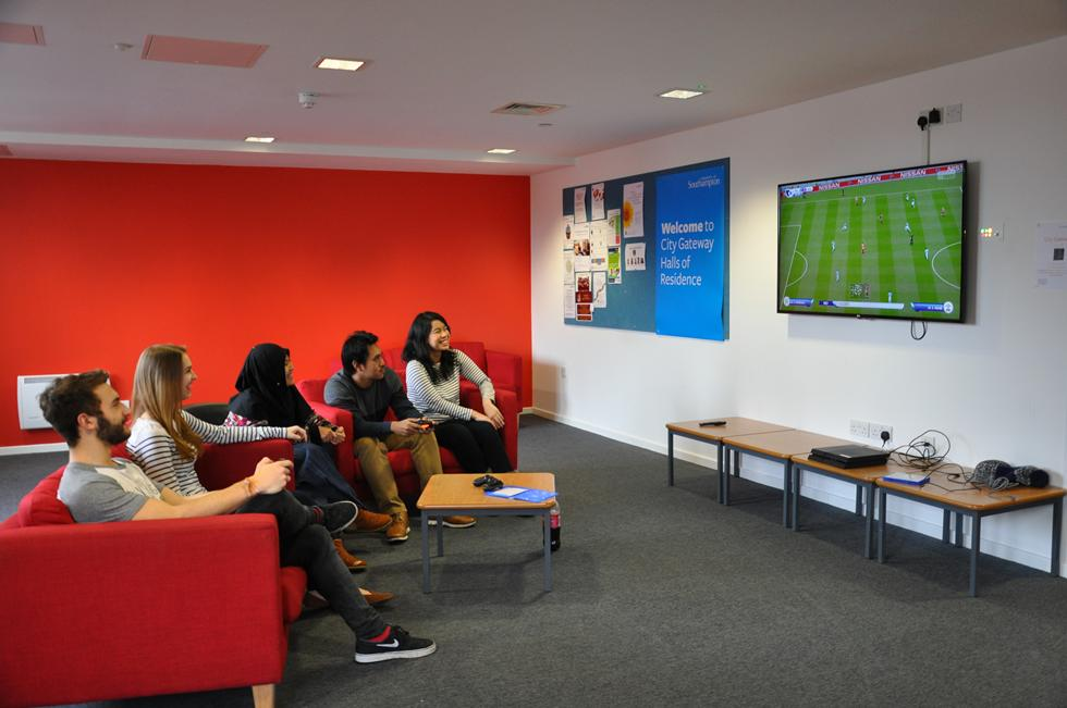 A common room in City Gateway